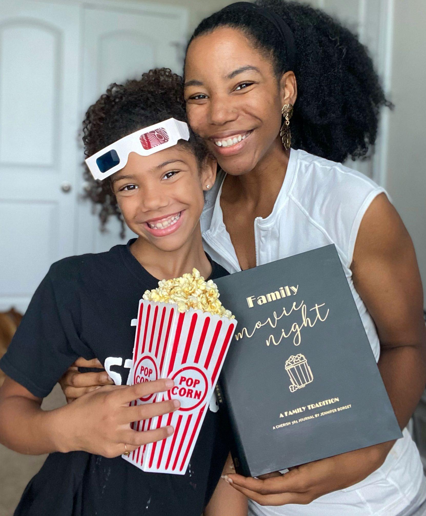 Family Movie Night Journal